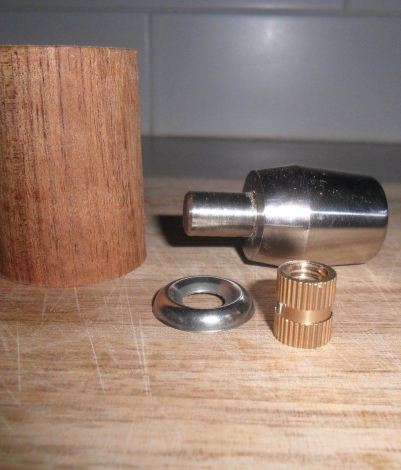 ECM Custom Hardwood Steel Coffee Parts By Wilcox