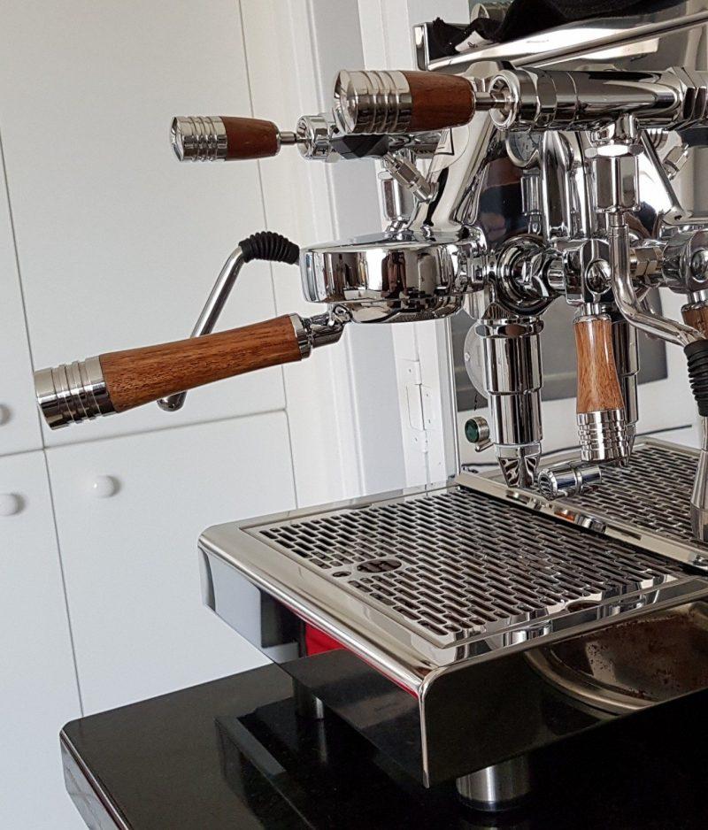 ECM Technika Profi Synchronika Wilcox Handmade Hardwood Coffee Parts