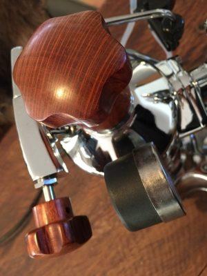 Handmade La Pavoni Stradivari Sheoak Wilcox Wood Coffee Parts