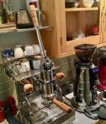 Izzo Alex Leva Olivewood By Wilcox Handmade Coffee Parts