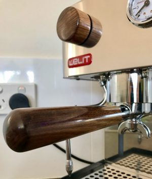Lelit Anita-Anna Handmade Tasmanian Blackwood Coffee Parts