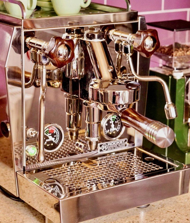 Rocket Giotto Evoluzione Premium Plus Australian Jarrah Coffee Parts
