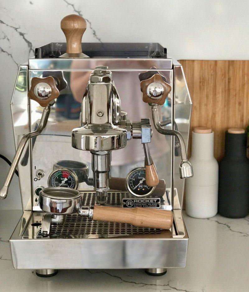 Rocket Giotto Evoluzione Premium Plus Olivewood Handmade Parts