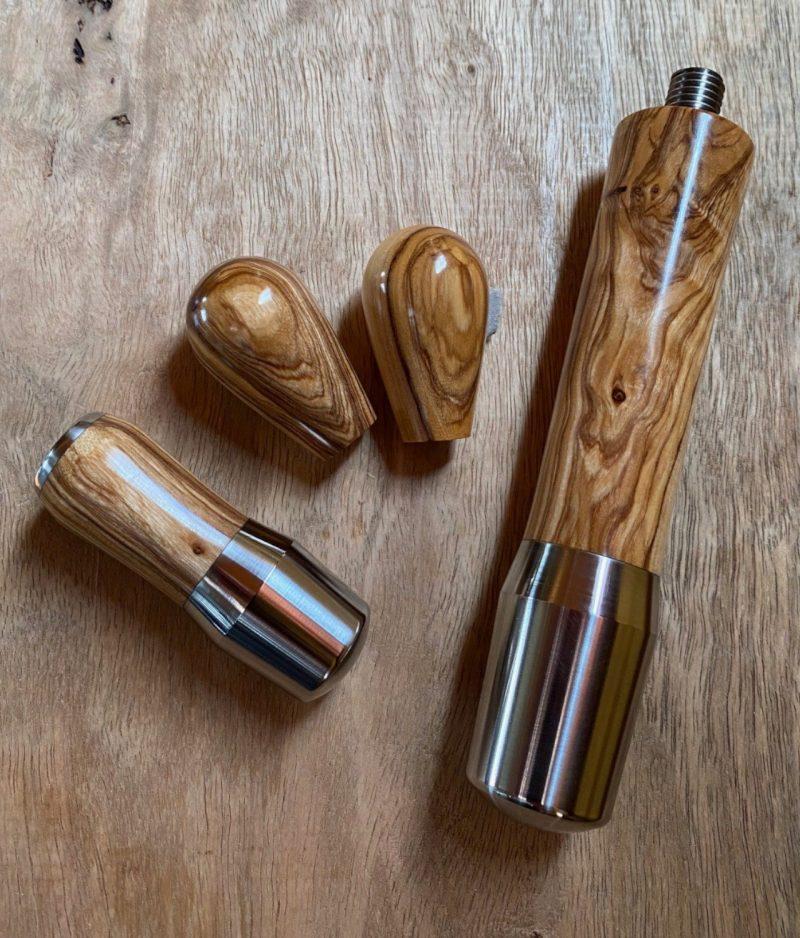 ECM Synchronika Technika Profi Custom Wood Coffee Parts