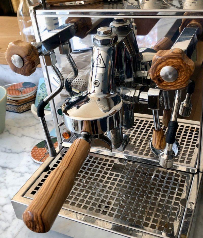 Profitec Pro 700 Wilcox Handmade Australian Olivewood Coffee Parts