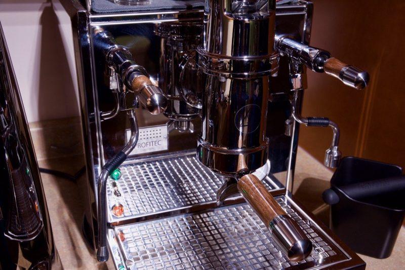 Profitec Pro 800 Custom Black Walnut ECM Coffee Parts