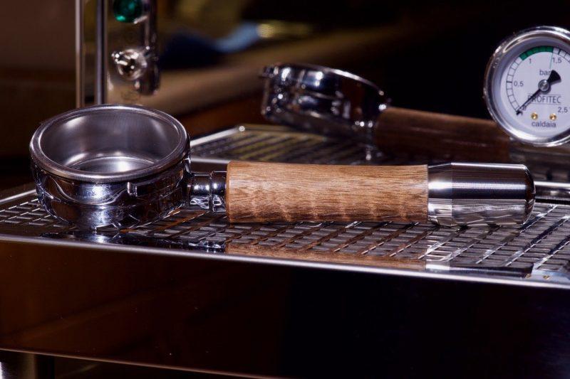 Profitec Pro 800 Custom Black Walnut Hardwood Coffee Parts
