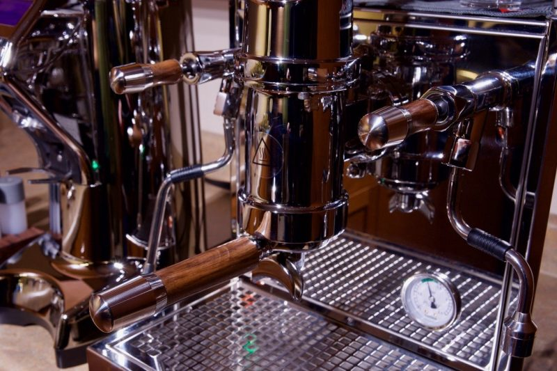 Profitec Pro 800 Custom Black Walnut Wilcox Handmade Coffee Parts