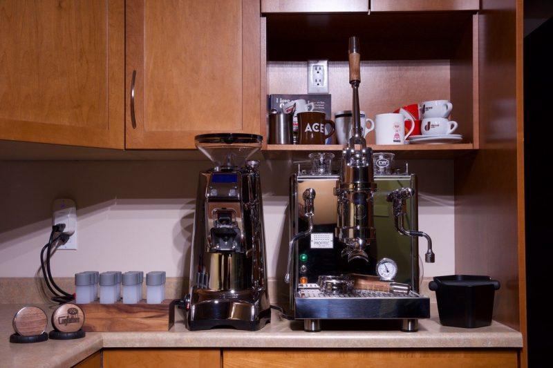 Profitec Pro 800 Custom Wilcox Handmade Walnut Coffee Parts