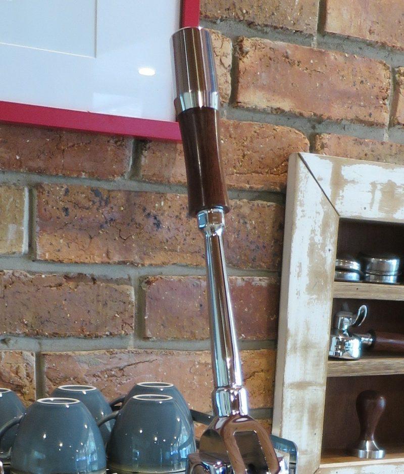 Profitec Pro 800 Wilcox Handmade Custom Australian Jarrah Coffee Parts