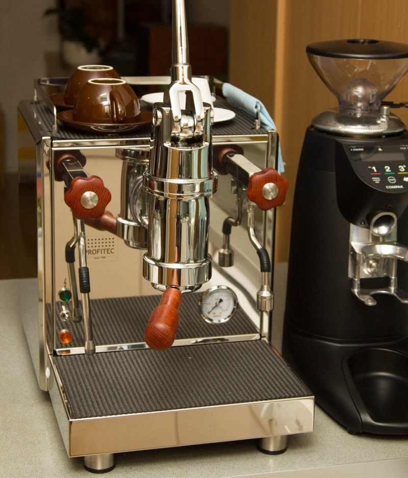 Profitec Pro 800 Wilcox Handmade Sheoak Coffee Parts