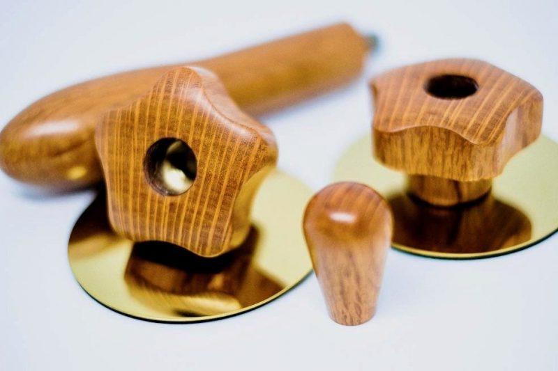 Rocket Giotto Evoluzione Premium Plus Sheoak Custom Espresso Parts