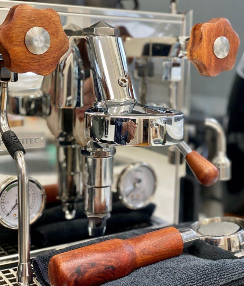 Tasmanian Blackwood Profitec Pro Handmade Parts